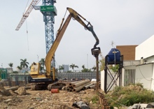 Steel Sheet Pile Driving And Pulling