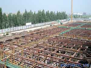 Shoring Works For Basement Contruction And Waterfront Structure
